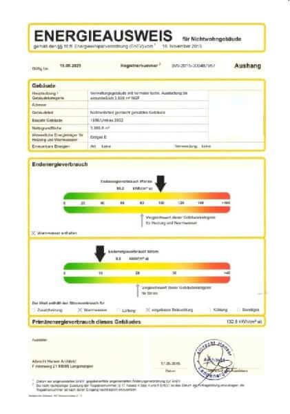 Energieausweis Immobilie Langenargen